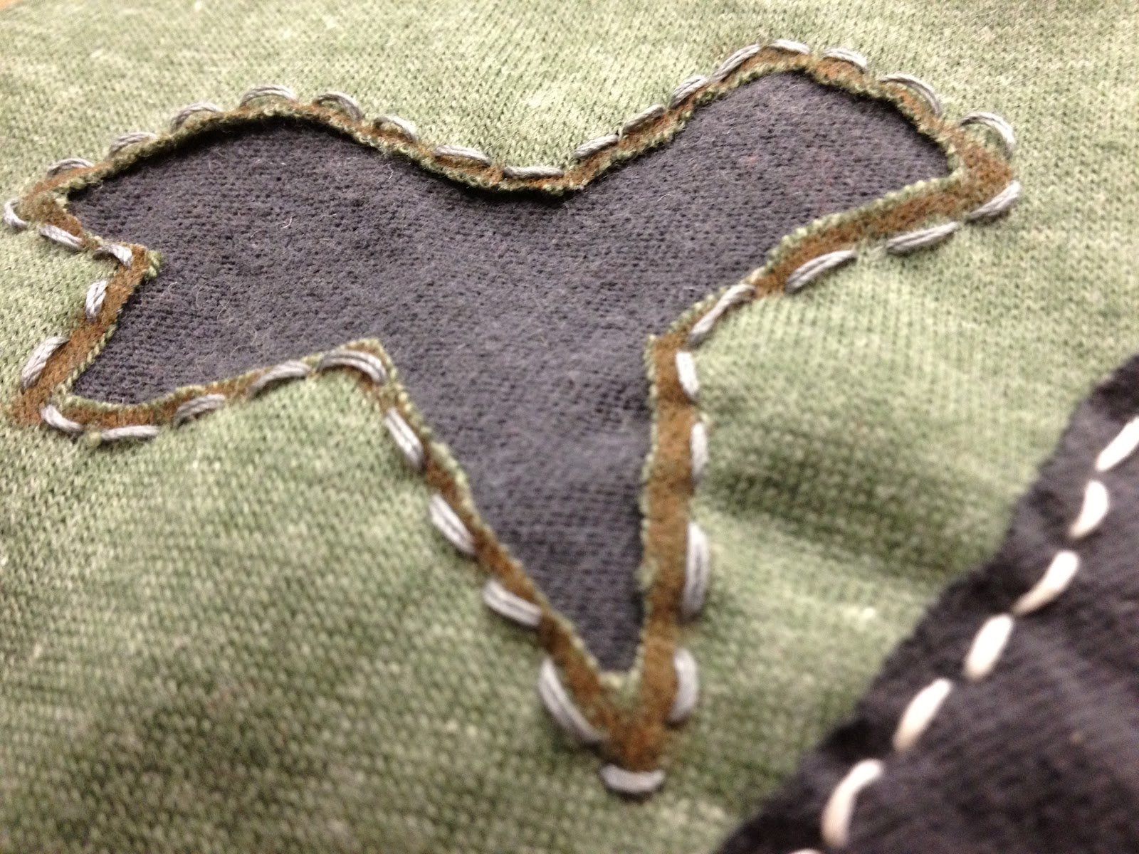 Sustainable sartorial fashion techniques embroidery