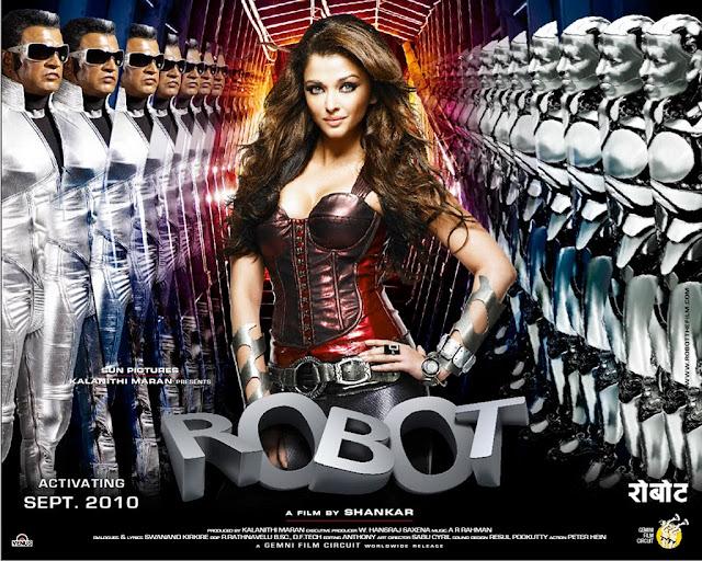 印度電影科幻愛情片《寶萊塢機器人之戀》