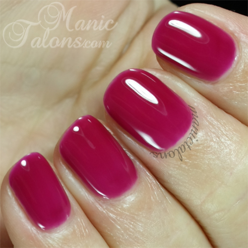 Purjoi One Step Gel Polish Shout It! Swatch