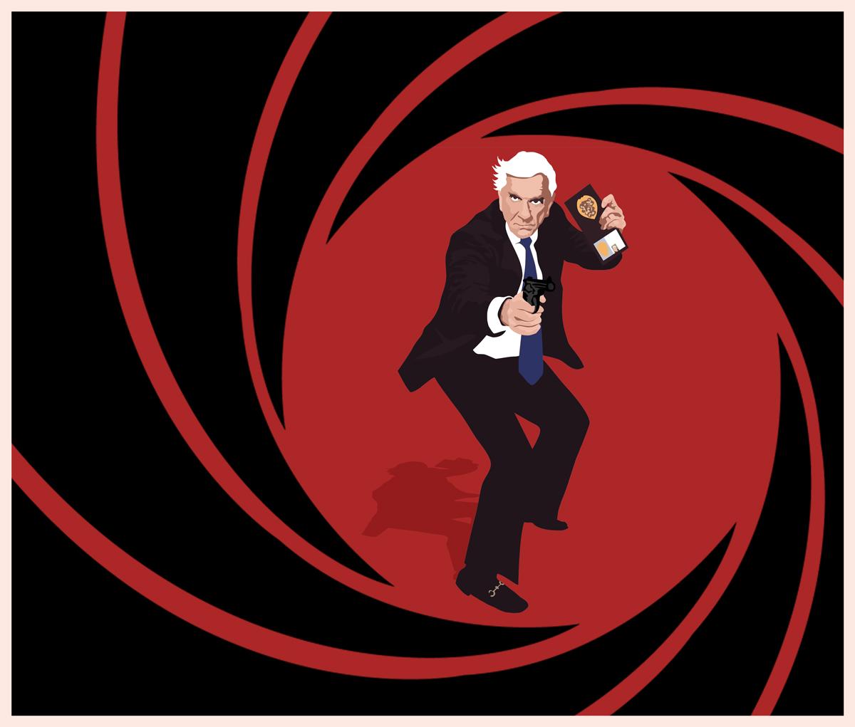Drebin Frank Drebin Right Shot In The Right Time