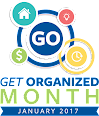 Get Organized Month - January 2017