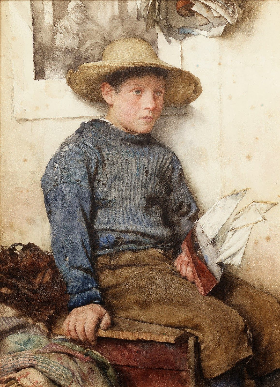 Walter Langley A Fishermans Son