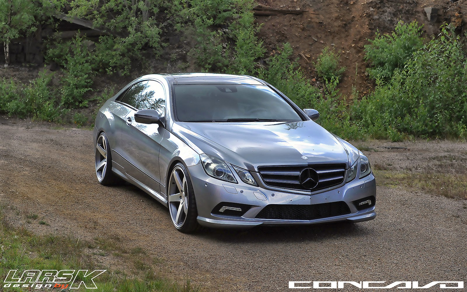 mercedes benz w207 e350 on concavo cw 5 benztuning