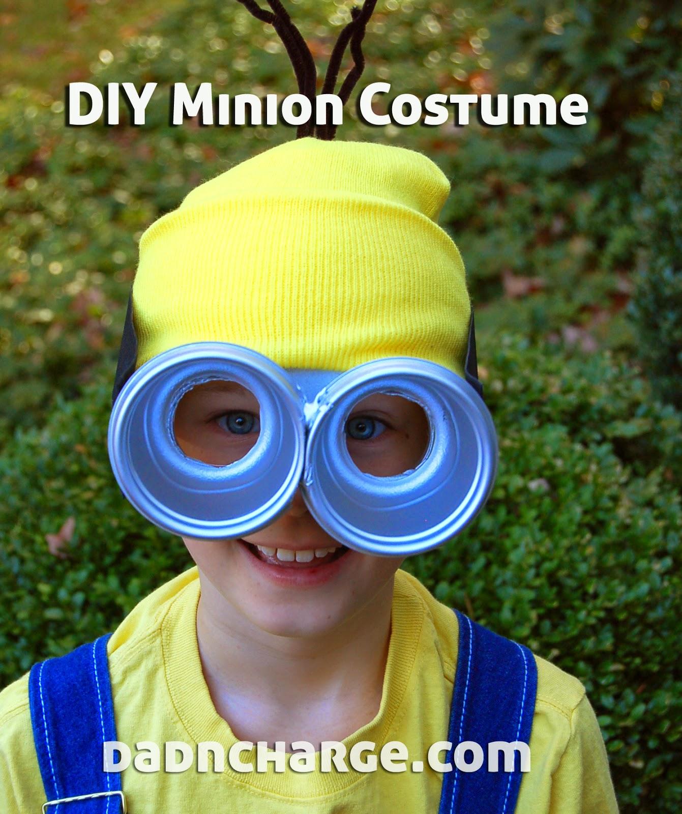 DIY Minion Costume & DadNCharge: DIY Minion Costume