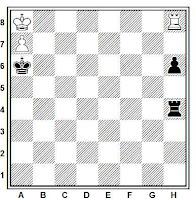 Estudio artístico de ajedrez de Harold Maurice Lommer, Valencia, marzo de 1962