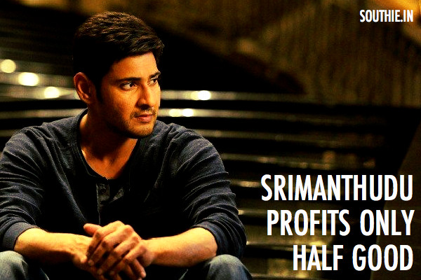 Srimanthudu has only covered previous losses by half. 1 Nenokkadine and Aagadu losses amounted to nearly 70 crores. Aagadu, 1 nennokkadine, Damages, Losses, Srimanthudu Profits,