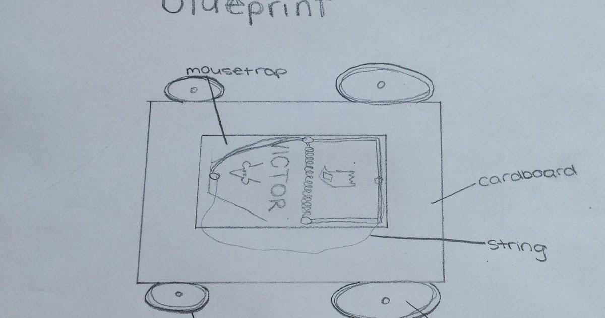 Mousetrap car blueprint malvernweather Gallery