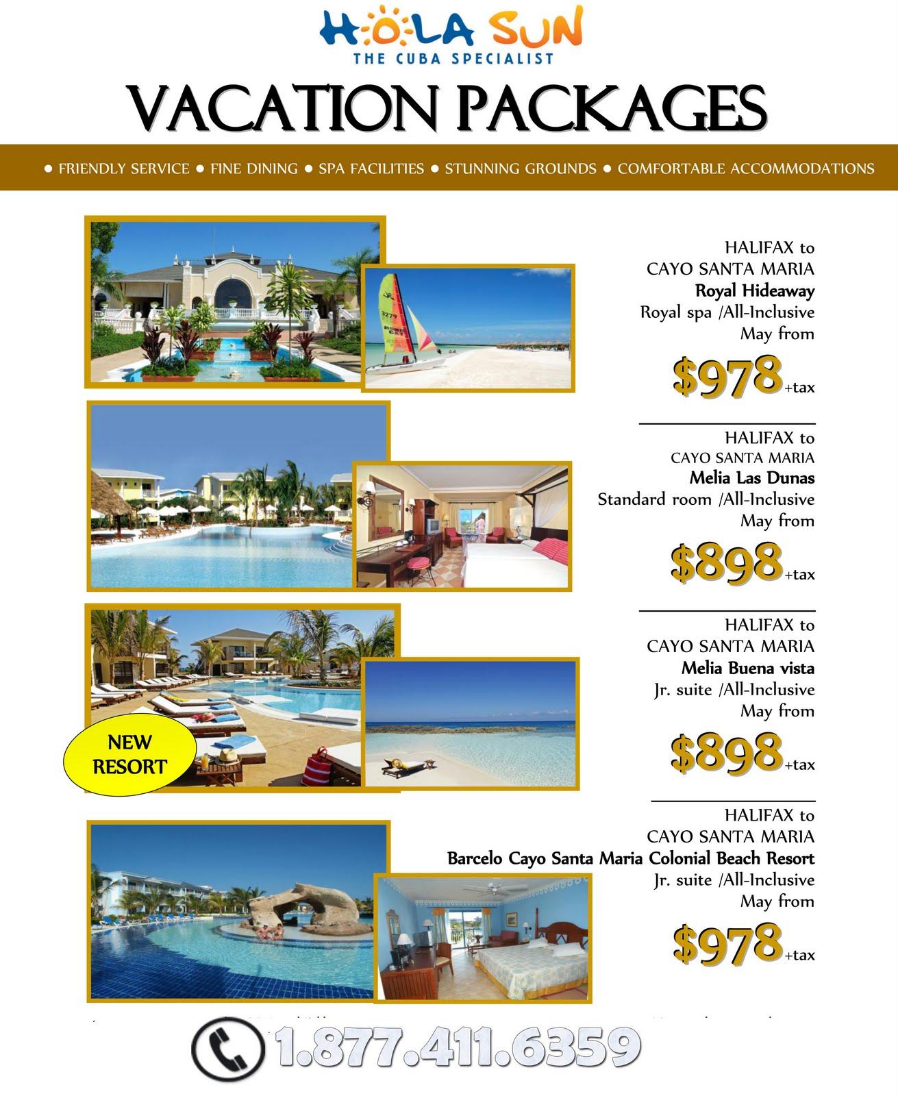 vacation deals: