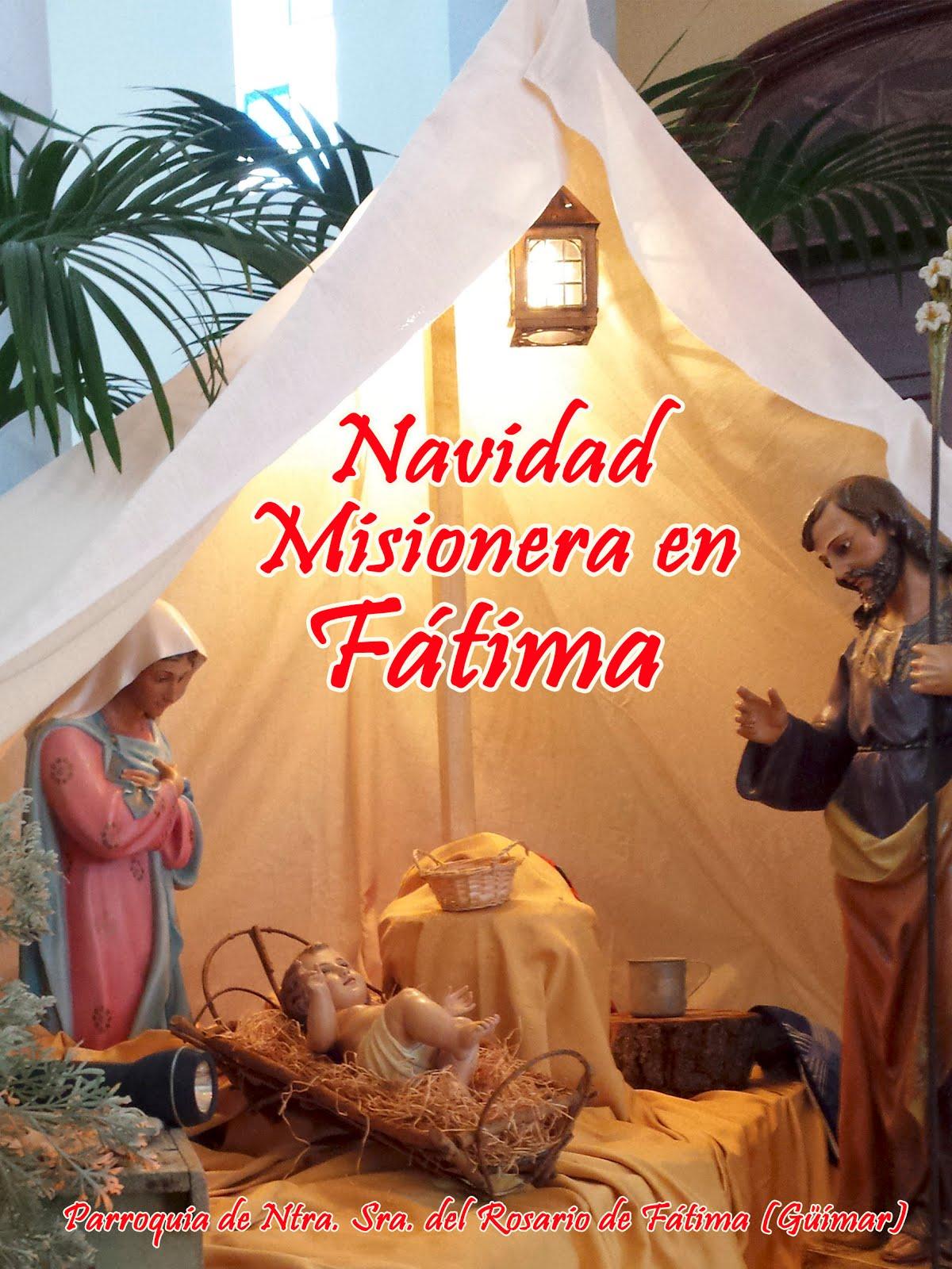 Navidad Misionera en Fátima. Pincha en la foto