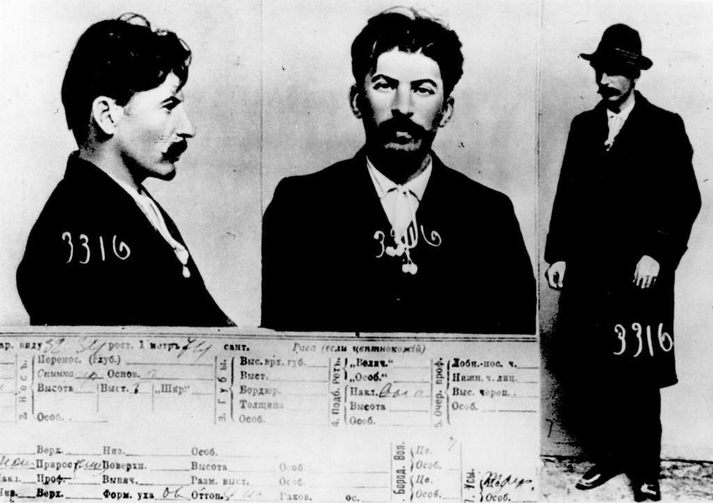 Fotografías de Joseph Stalin tomadas por la policía secreta zarista al ser capturado en 1911