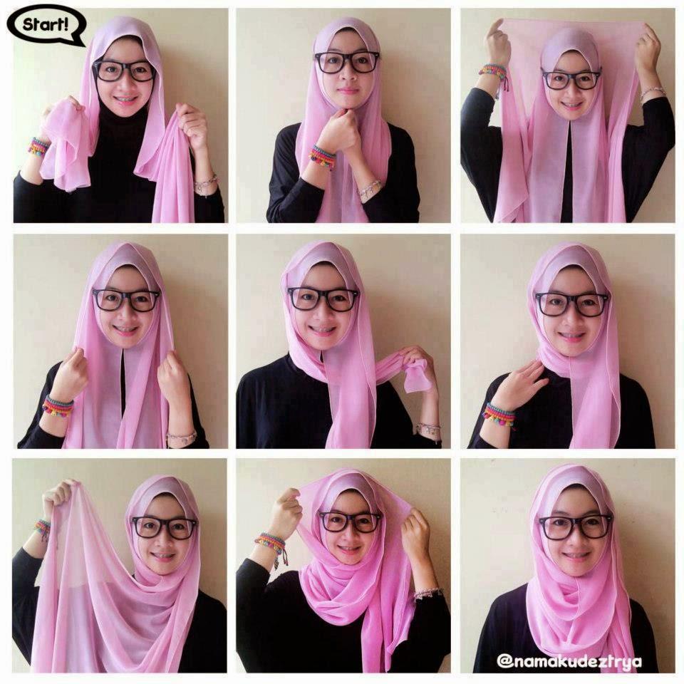 Tutorial Hijab Lebaran 2014 I N S P I R A T I O N
