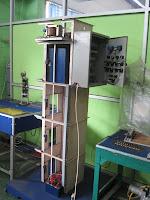 pelatihan plc miniatur lift