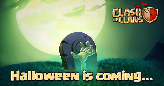 halloween Clash of Clans