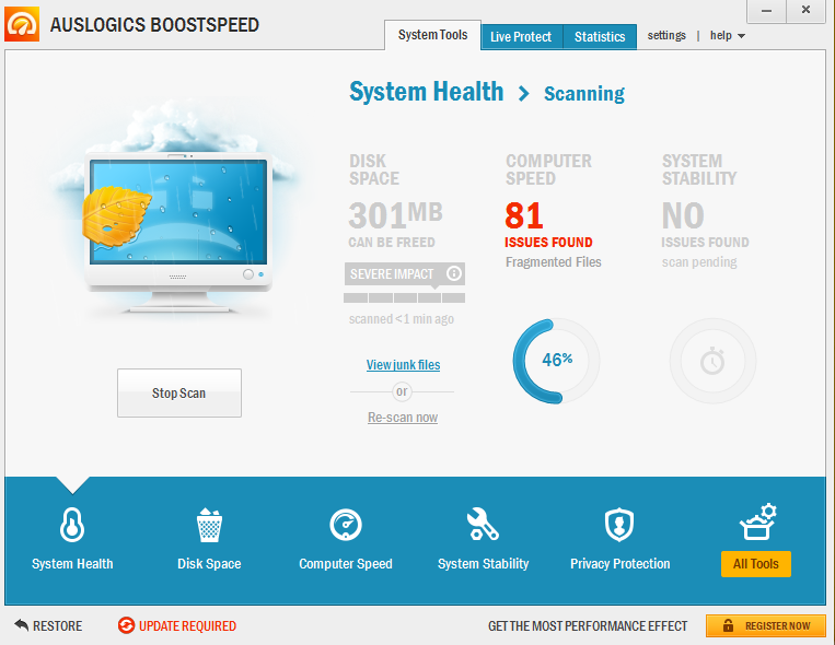 Auslogics BoostSpeed hispasoftware