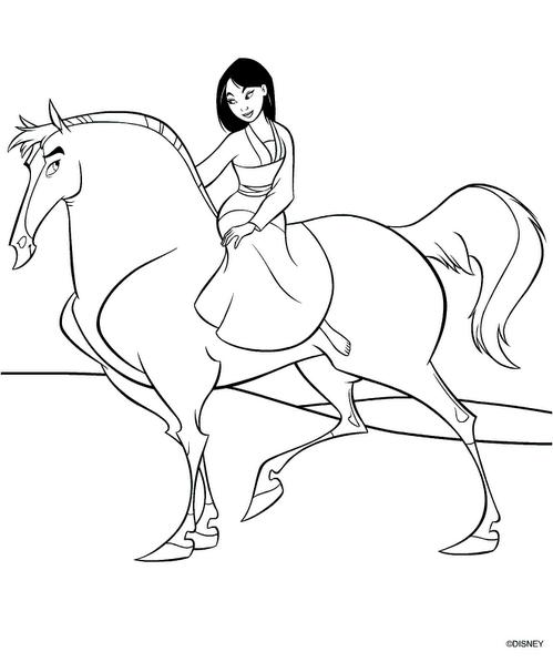 7 Beautifull Princess Mulan Characters Coloring Pages Disney Mulan Coloring Pages