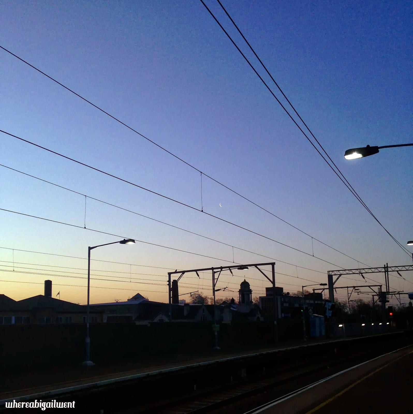Morning in London Cambridge Heath