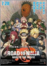 Road to Ninja: Naruto the Movie DVDRip XviD   Legendado