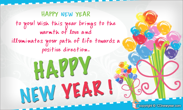 New Year 2014 Wishes Greeting Cards