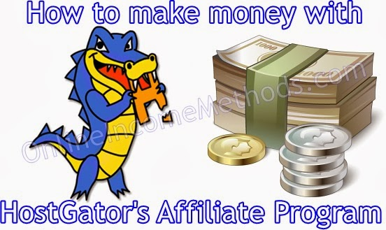 Make Money with Hostgator Affiliate Program
