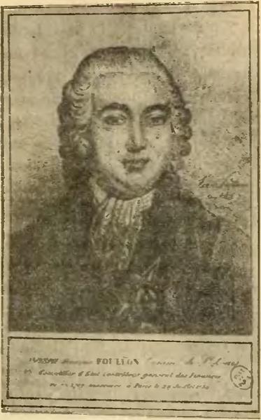 Joseph Foullon de Doué