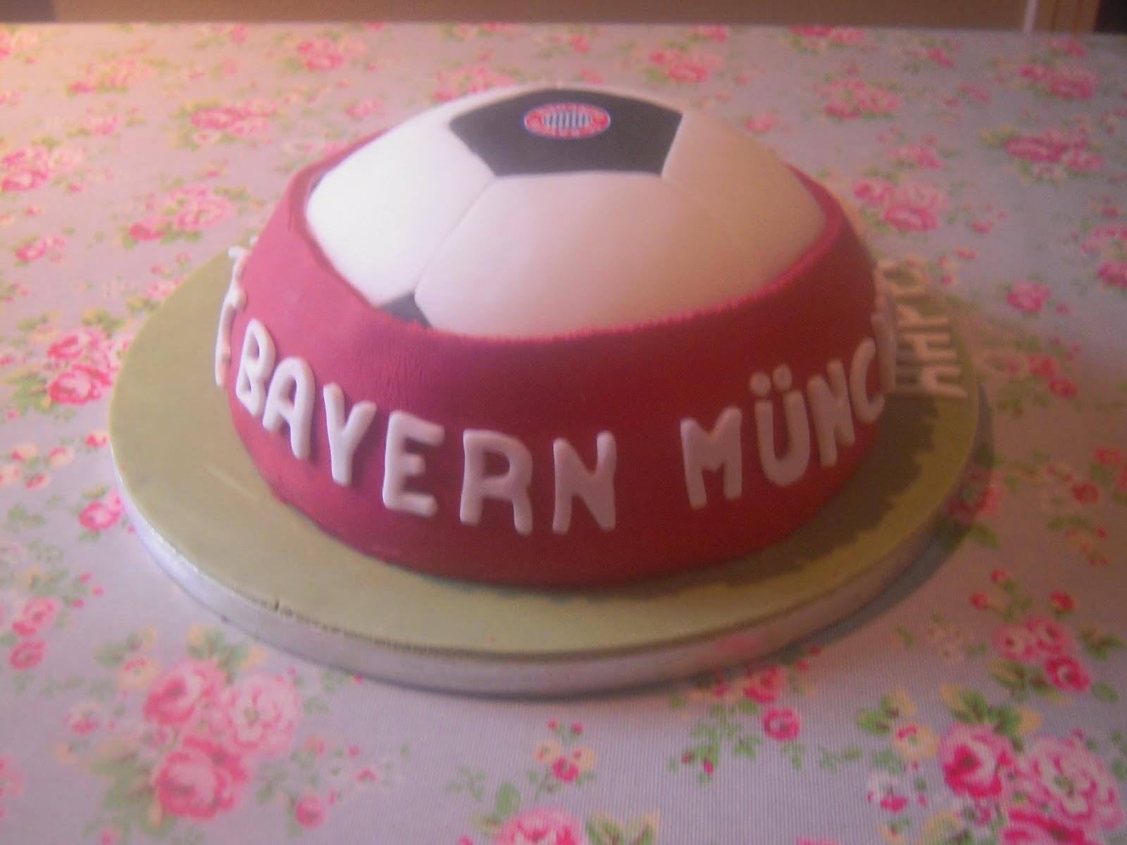 Eileen Atkinsons Celebration Cakes Bayern Munich Birthday Cake