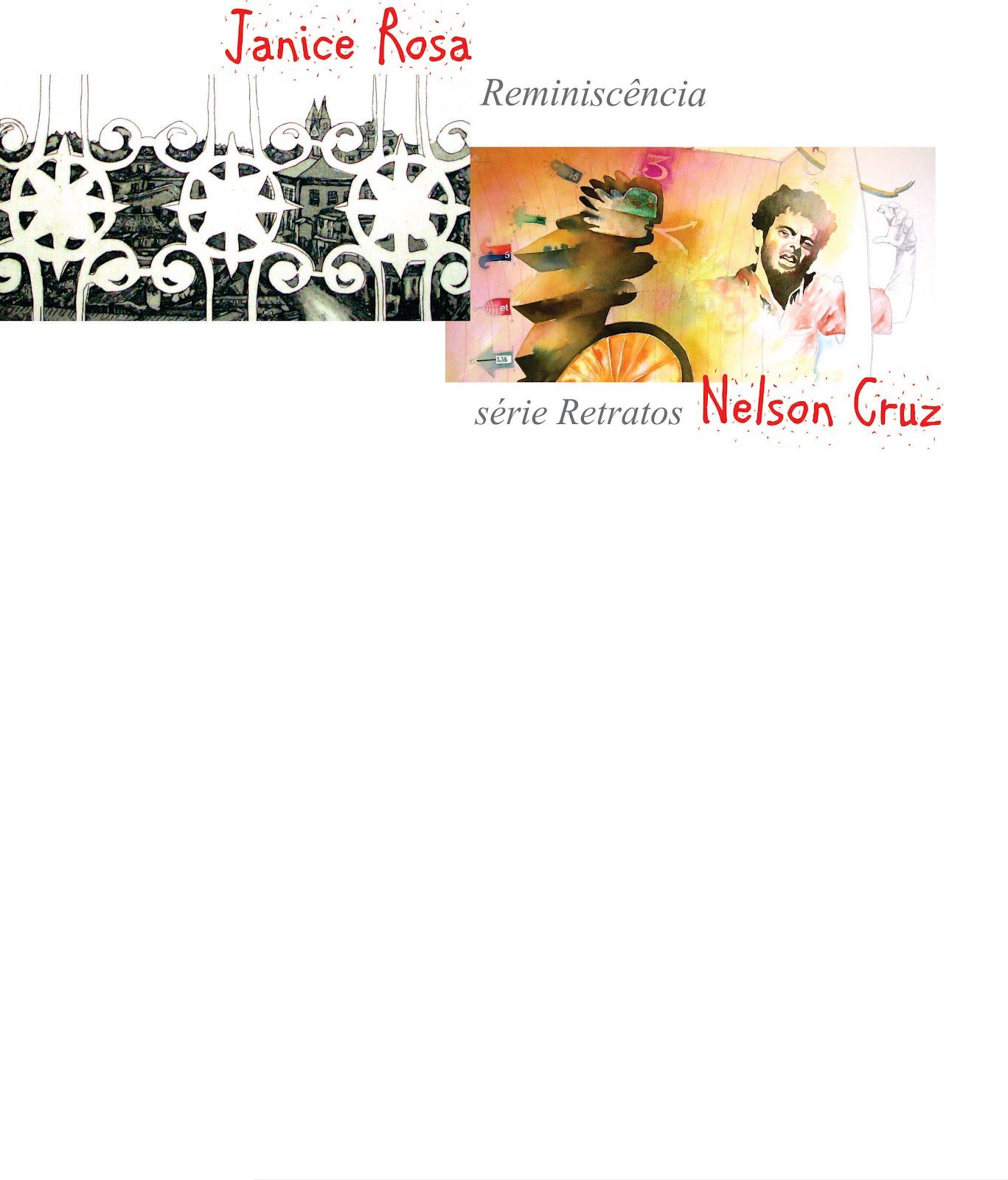 Exposição coletiva de Janice Rosa e Nelson Cruz