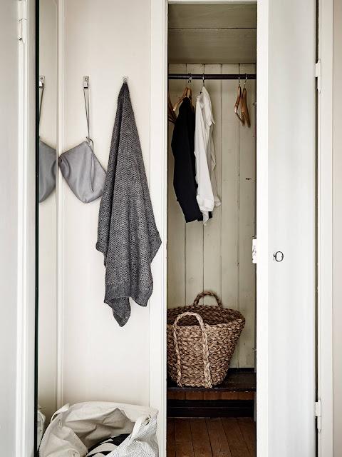 Armario ropero en vivienda pequeña
