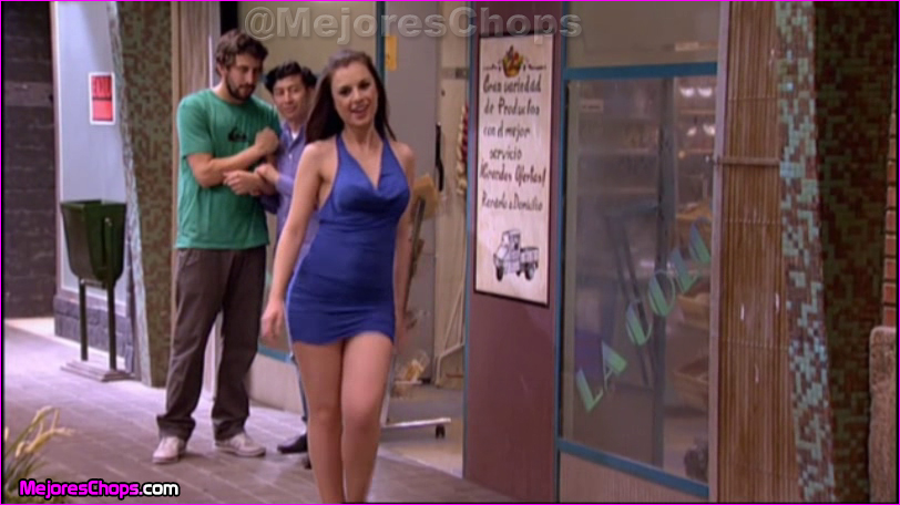 Miren ibarguren con un espectacular vestido vestidos de for Miren ibarguren ropa interior