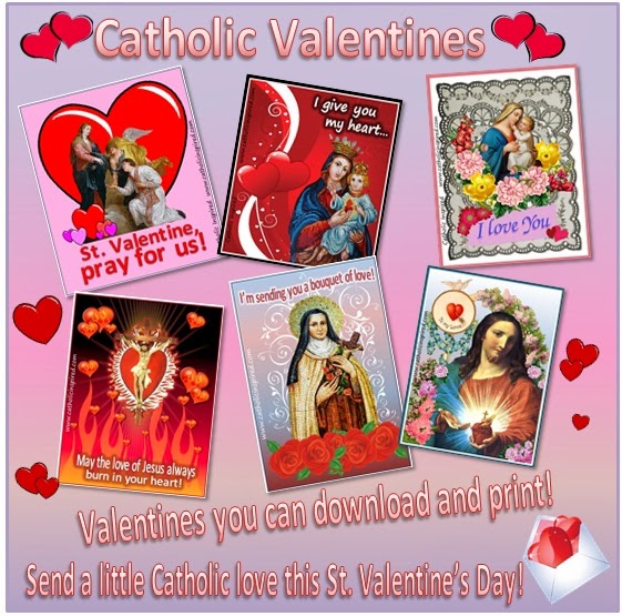 Donu0027t Forget To Become A Member So You Can Download These Awesome Catholic  Valentines!