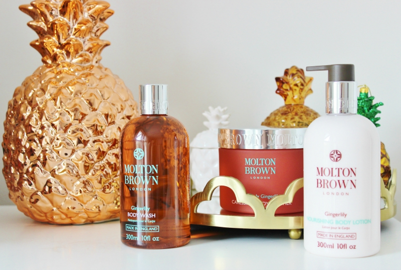 Molton Brown Heavenly Gingerlily range review