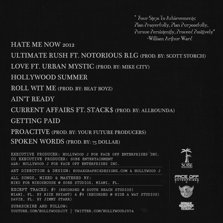 blog mixtape cover design music on my mind hollywood j