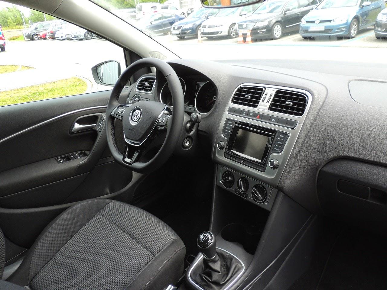 Volkswagen Polo - wnętrze