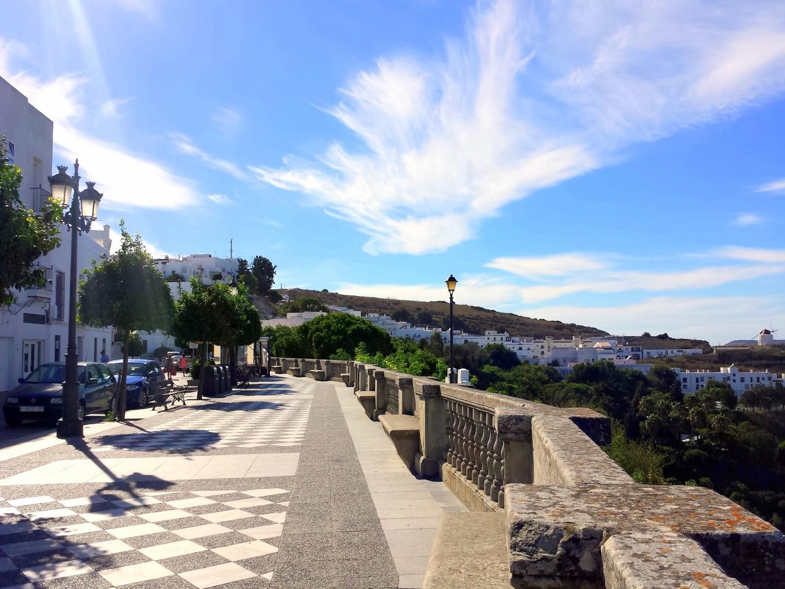 Vejer de la Frontera hillside  |  Postcard from Andalucía: Vejer de la Frontera on afeathery*nest  |  http://afeatherynest.com