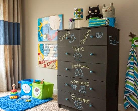 Desain Kamar Tidur Anak Laki-Laki Sederhana Elegant