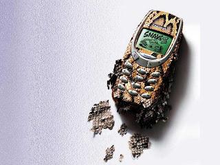 Nokia Snake 2 Cellphone HD Wallpaper