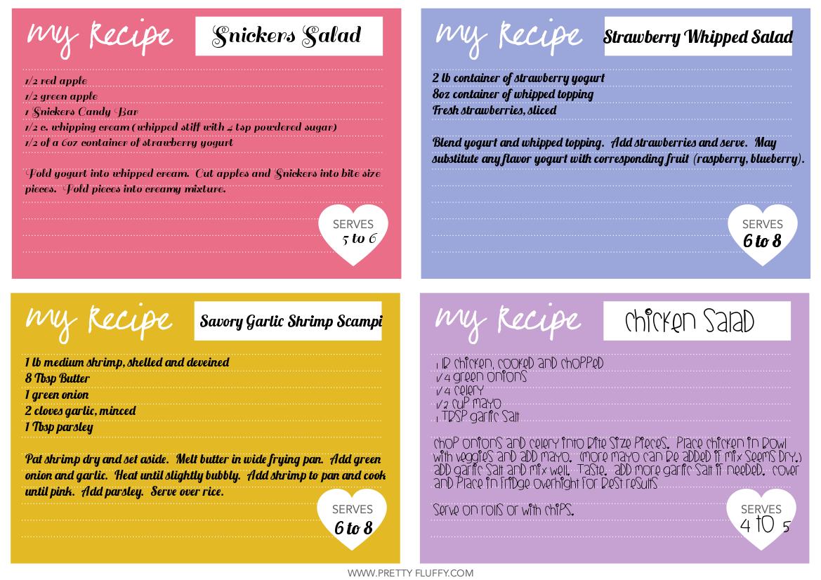 Blogiversary Recipes from GYCT