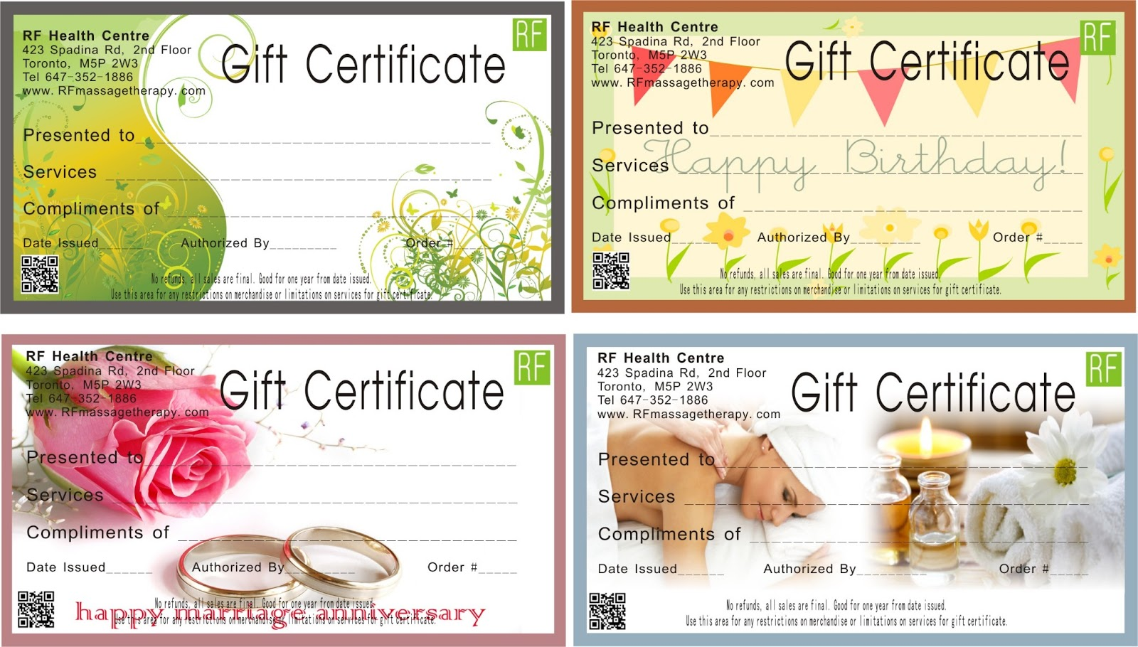 Gardenia massage facial spa gift certificates xflitez Images