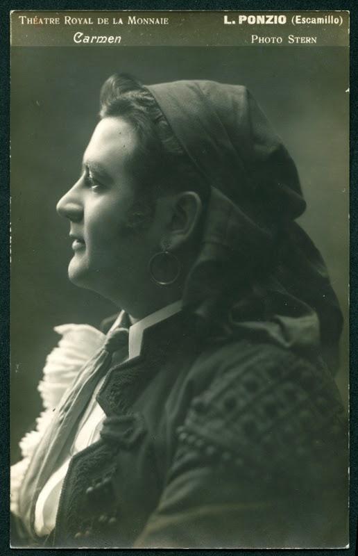 BELGIAN BARITONE LÉON PONZIO (1887 – 1947) CD