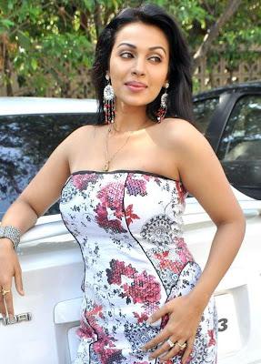 Asha Saini aka Flora Hot Boob Show Photos
