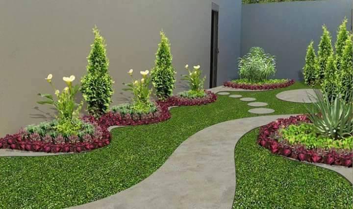 Taman Depan Rumah Minimalis & Desain Taman Depan Rumah Minimalis Modern - Desain Taman Depan Rumah