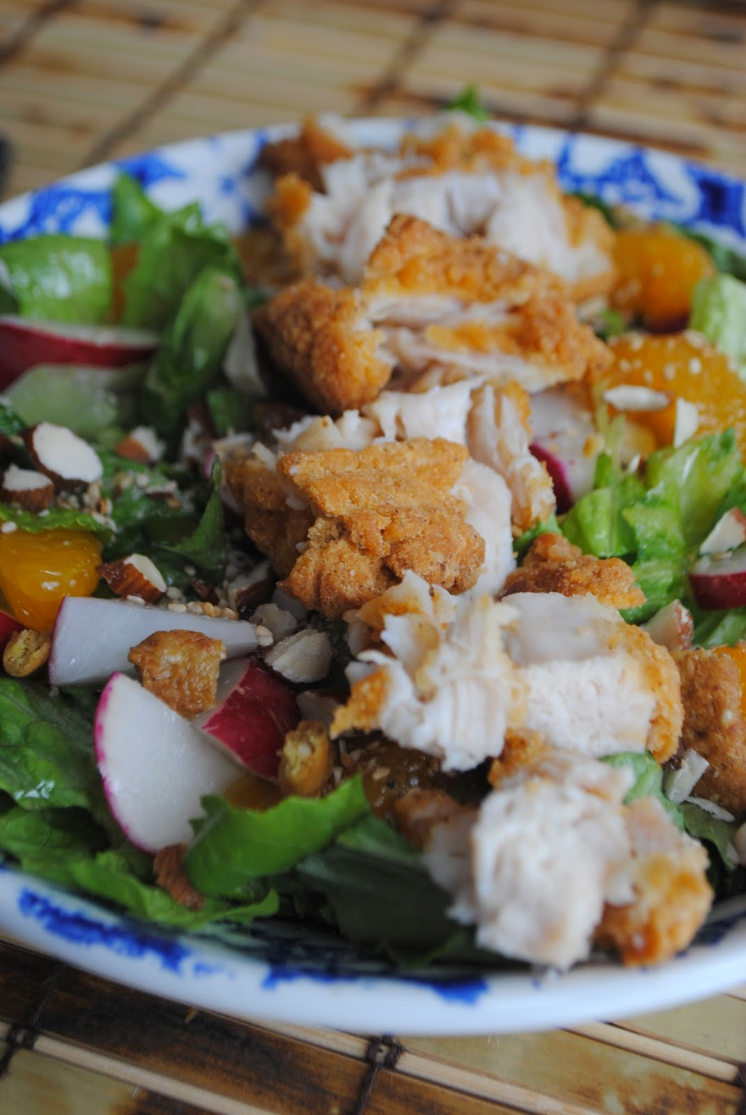 ... Goodness: ASIAN STYLE SALAD with Creamy Orange Ginger Dressing