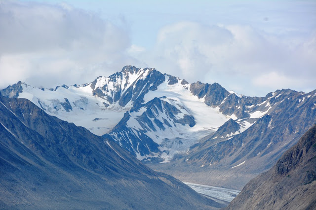 Alaska snowcapped mountain