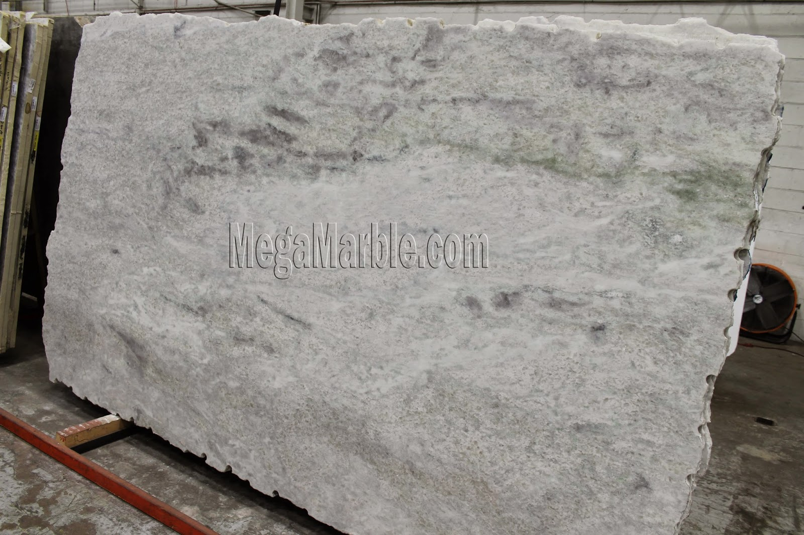 Quartzite Stone Slabs : White marble countertops nj