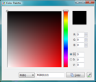 palette Perisian Screen Capture dengan Image Editor