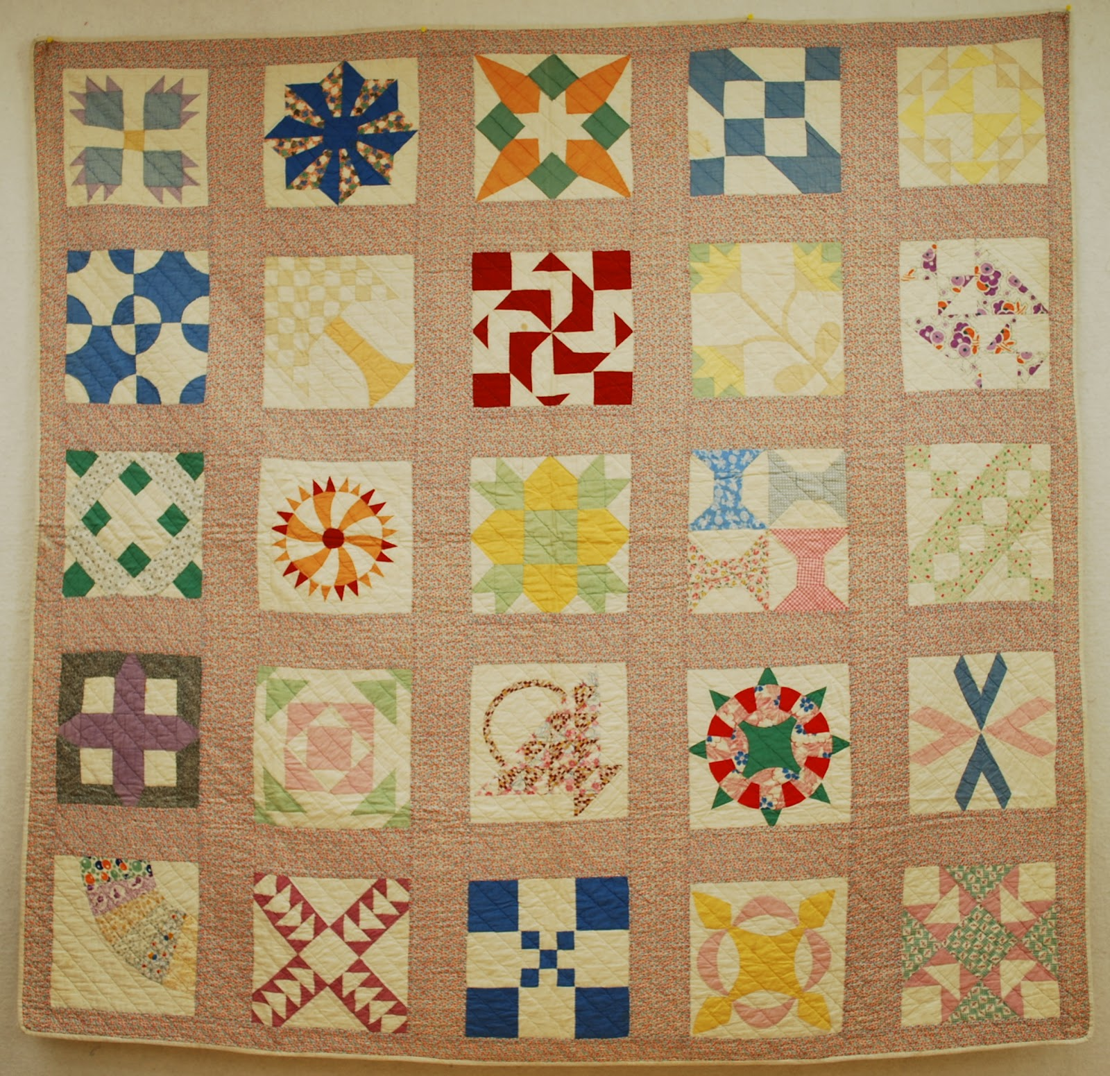 vintage quilting patterns traveler