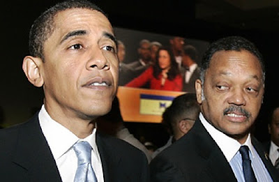President Obama and Jesse Jackson