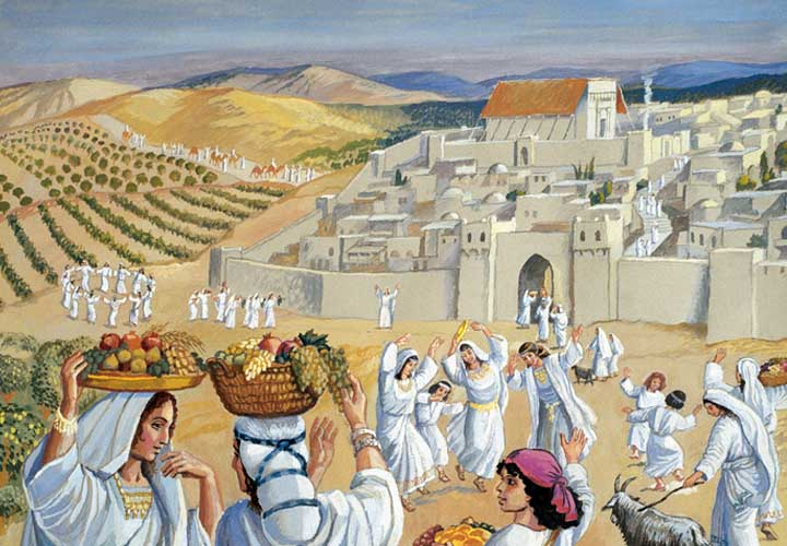 This coming Shabbat is Tu B'Av