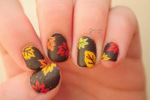 Autumn Nail Design 8