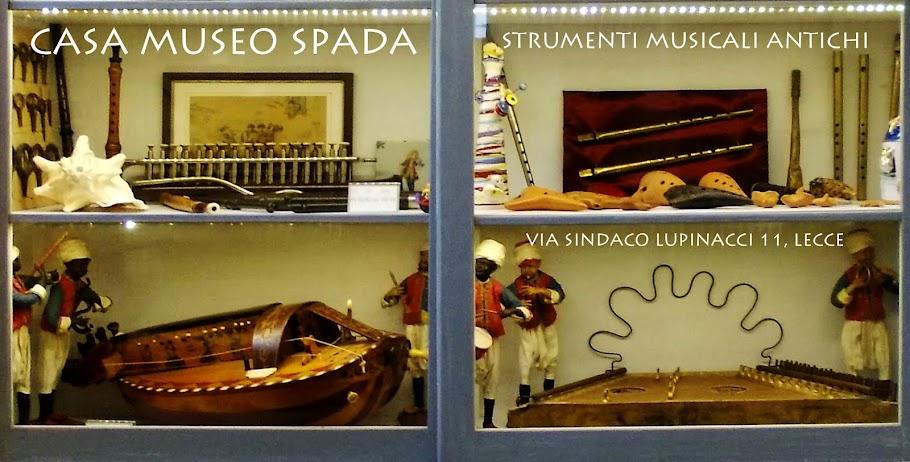 CASA MUSEO SPADA Antichi Strumenti Musicali