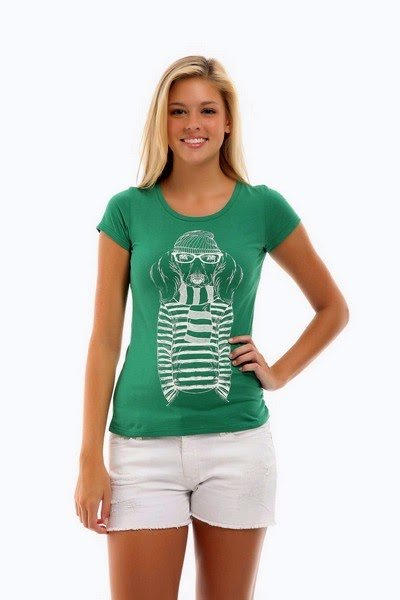 Latest Fashion of Simple T-Shirts for Girls